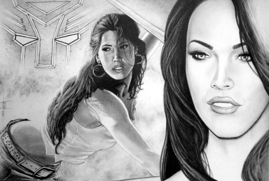 Megan Fox by graphixrob
